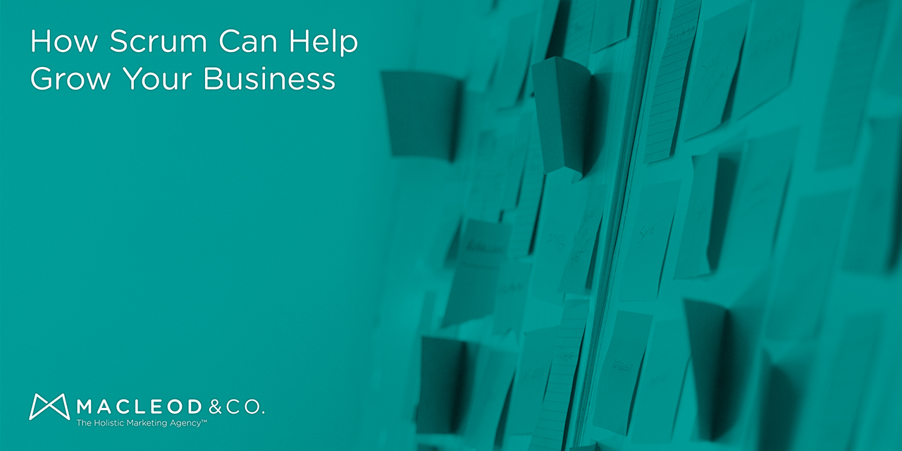 Scrum Can Help Grow Your Business | Macleod & Co. The Holistic Marketing Agency Minneapolis