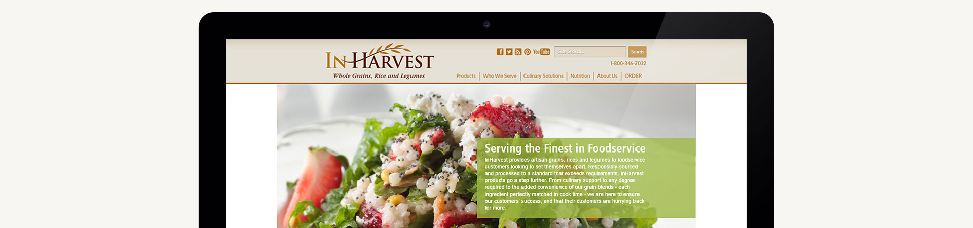 InHarvest Website Design | Macleod & Co. The Holistic Marketing Agency Minneapolis