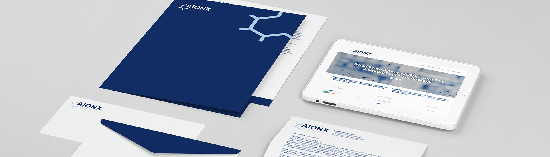 Aionx Branding, Strategy & Illustration