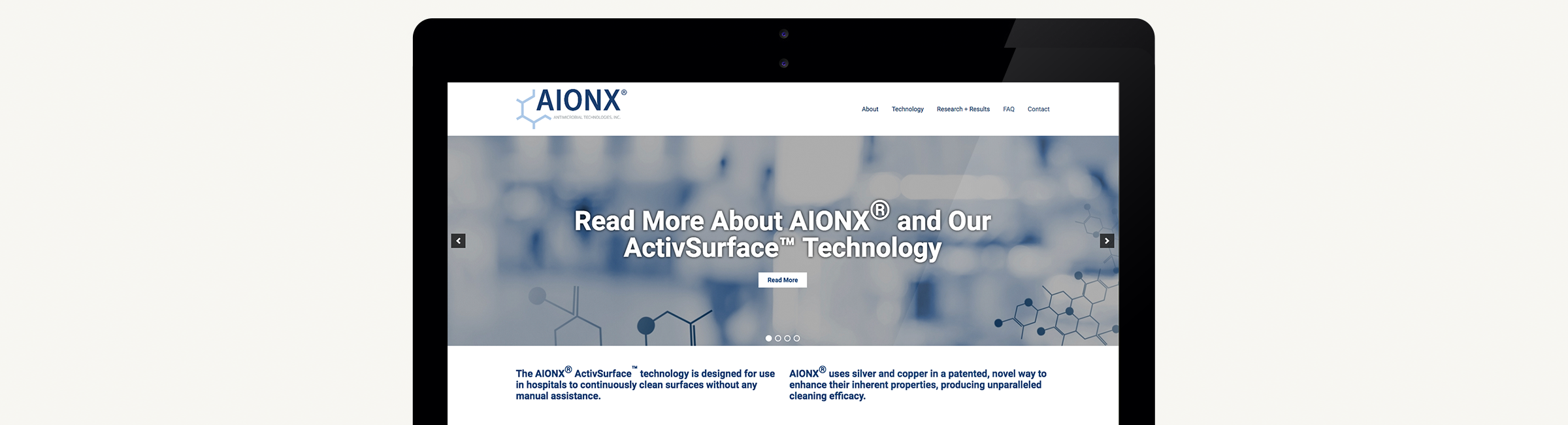 Aionx Website, Branding, Strategy & Illustration