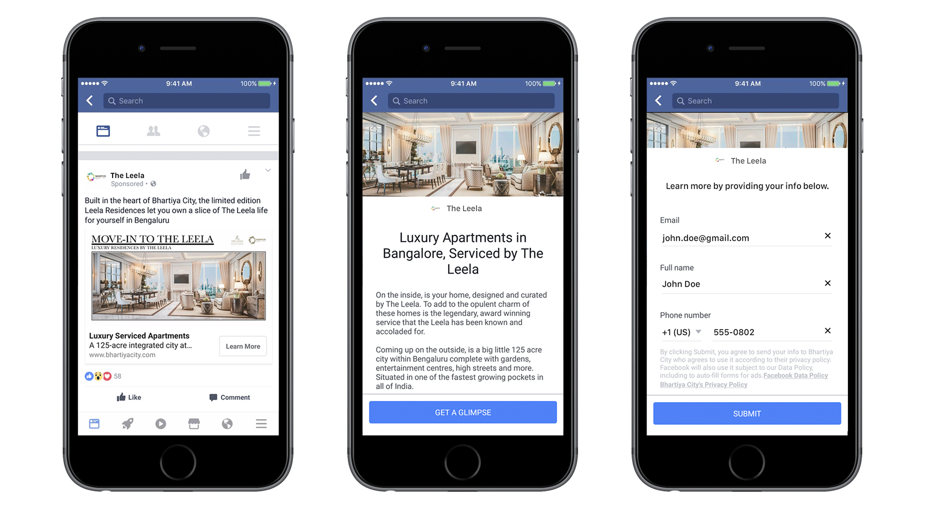 Facebook Lead Gen Ad Example | Which type of Facebook ad should you use for your business? | Macleod & Co. | Full Service Digital Marketing Agency Minneapolis