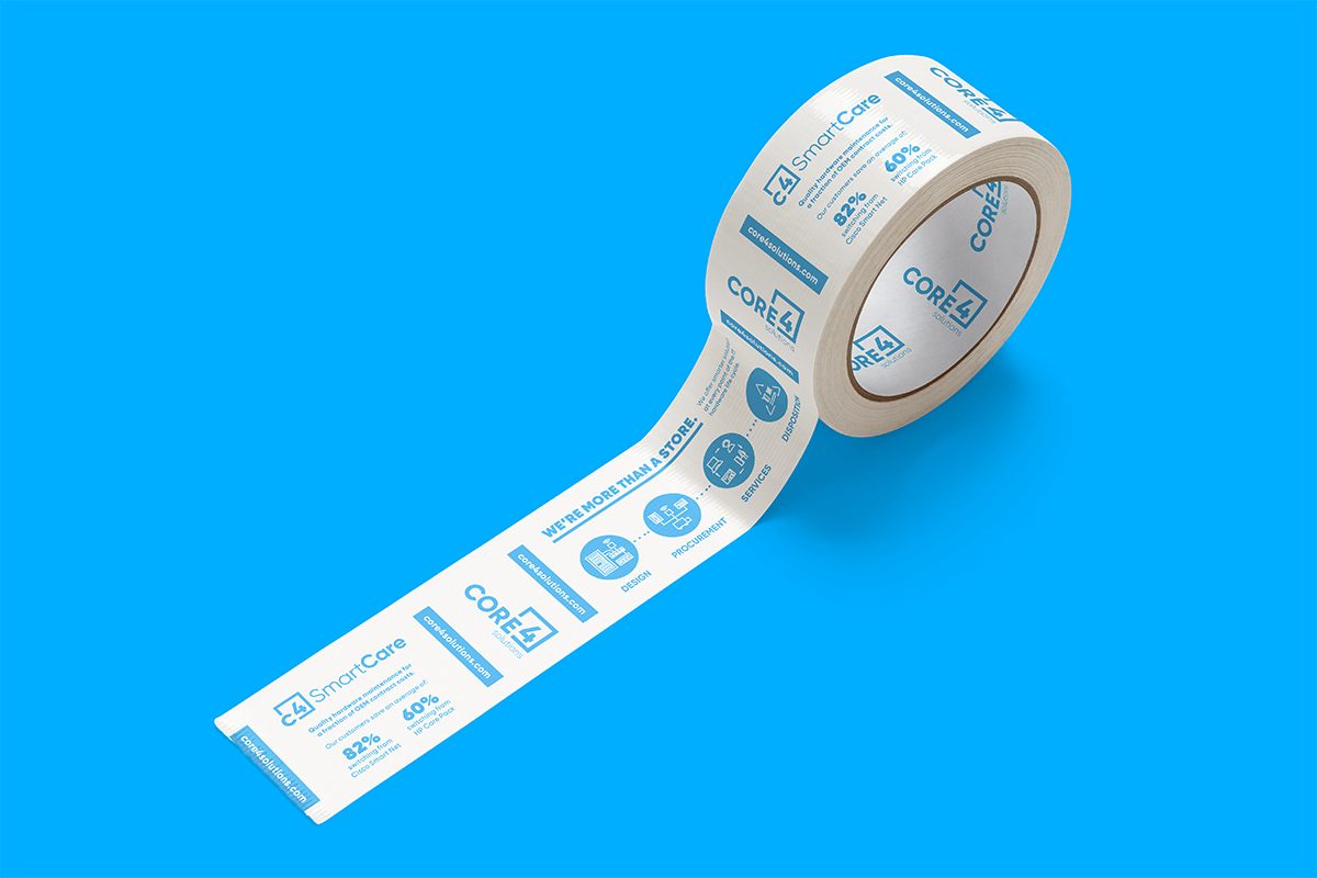 A roll of Core 4 tape
