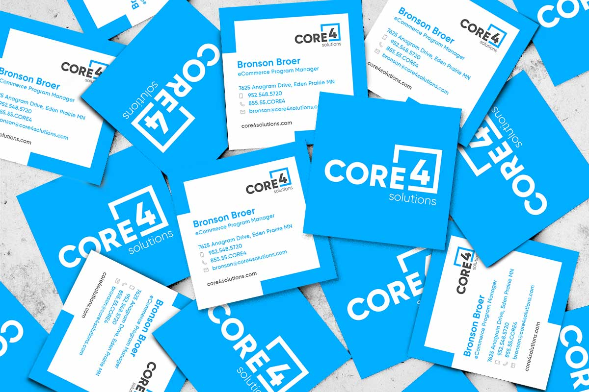 Core 4 Business Cards