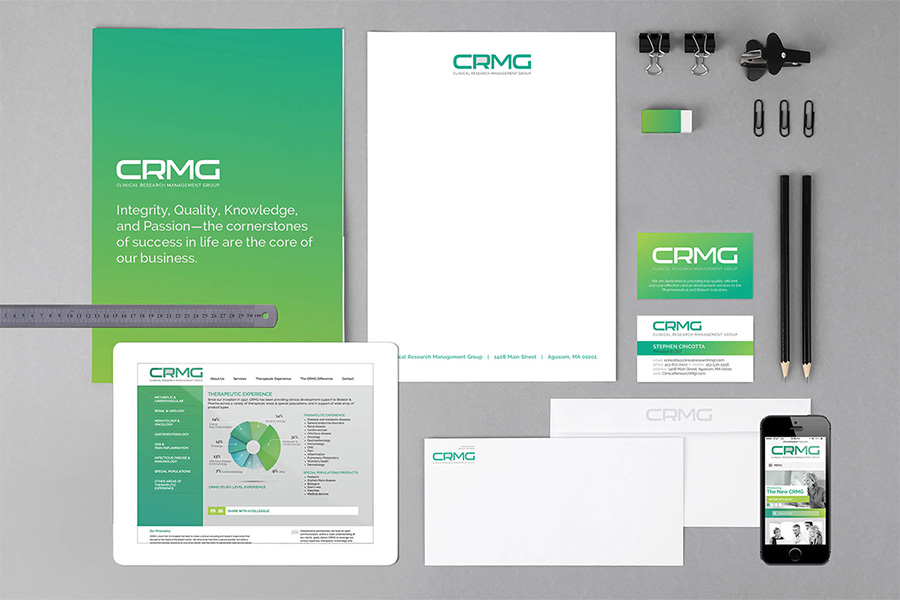 CRMG Rebranding | Macleod & Co. | Full Service Marketing Agency Minneapolis