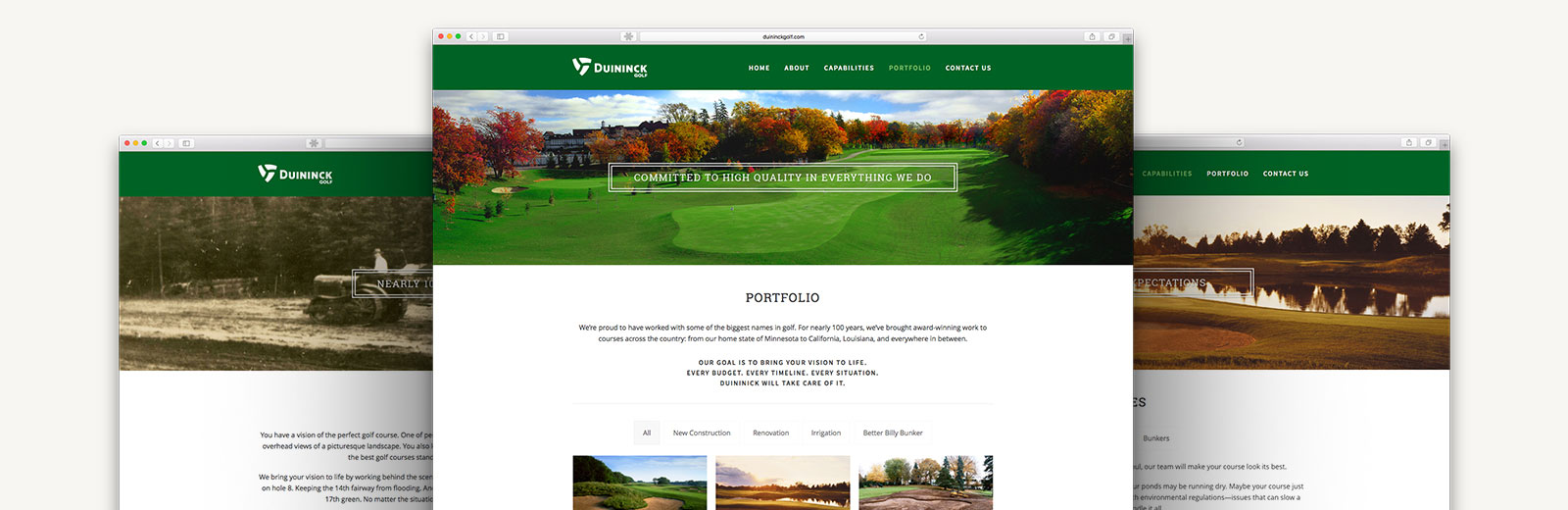 Duininck Golf Design | Macleod & Co. | Full Service Marketing Agency Minneapolis