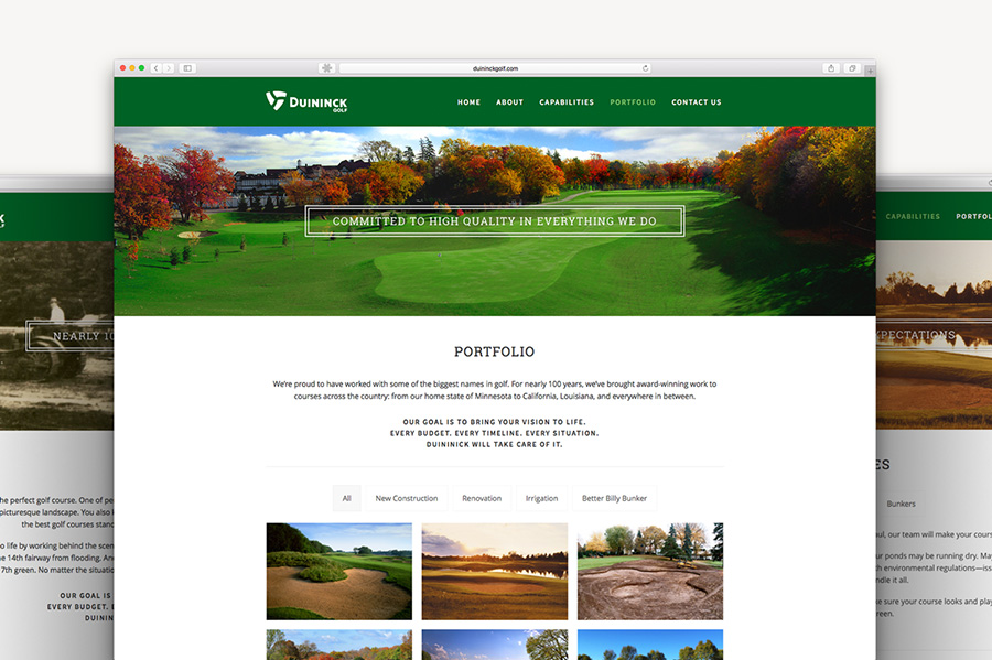 Duininck Golf Design | Macleod & Co. | Full Service Agency Minneapolis