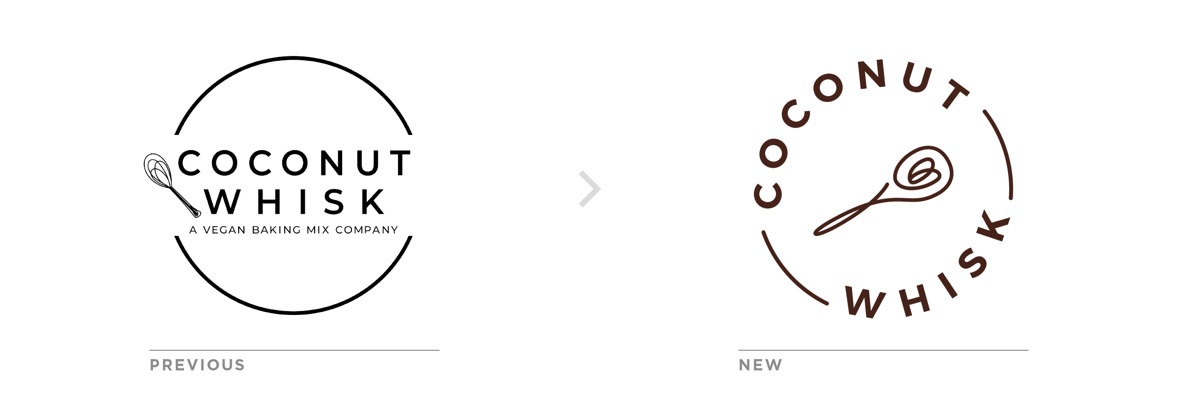 coconut whisk logo redesign