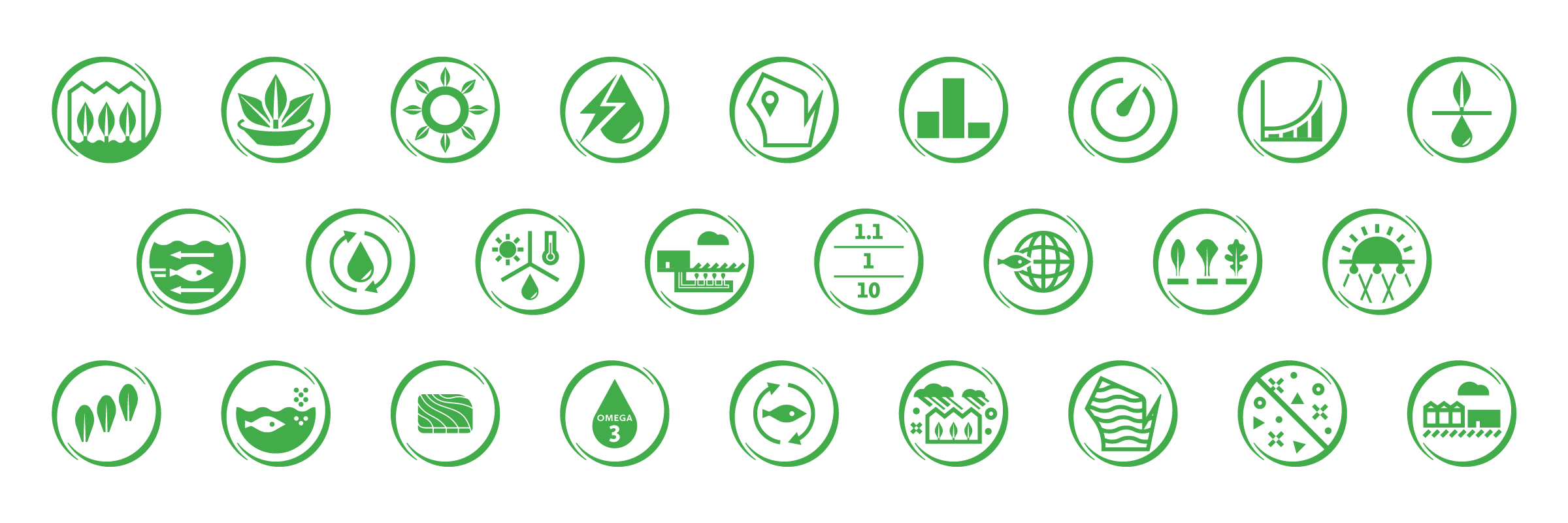 superior fresh designed icon set